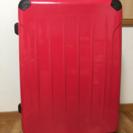 大型 スーツケース(ピンク&ブラック ツートン)