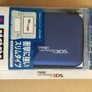 3DS用スリムハードポーチ 青
