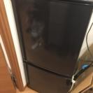 SHARP 黒色 単身向け冷蔵庫