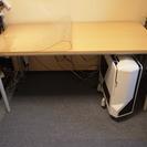 デスクマット付き デスク・テーブル