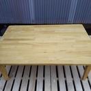 [便利な🎵折り畳みテーブル天然木]⁑リサイクルショップヘルプ