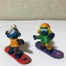 スマーフフィギュア!スノーボード
