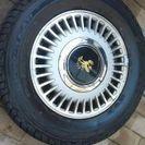 センチュリーGZG45アルミ+タイヤ