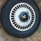 センチュリーGZG45アルミ+タイヤ中古品