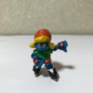 スマーフフィギュア!ローラースケート