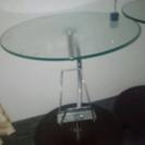 ガラスコーヒーテーブル