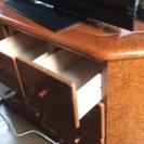 イタリア製 収納付きコーナーテレビ台 定価30万!