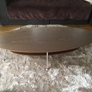 楕円形ローテーブル
