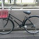 中古自転車 ママチャリ 26インチ 3段変速 ブラック 黒 かわい...