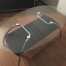 ガラステーブル(ニトリ/1年使用)
