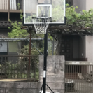 バスケットゴール屋外用