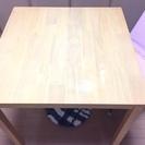 北欧風☆天然木のきれいなダイニングテーブル