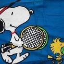 大東市立テニスコートで練習相手の募集です!