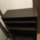 木製カラーボックス 二個