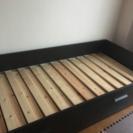 引き出しあり IKEAシングルベッド