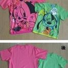 ディズニーTシャツセット(タグ付き新品 サイズS&サイズ120)