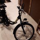 Air bike22型電動自転車黒色。新品