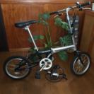 折りたたみ自転車(美品)