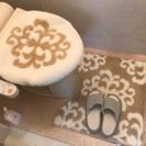 トイレマットカバーセット
