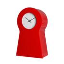 IKEA 小物入れ付き時計 レッド イケア