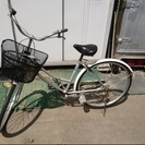 北海道 札幌より 自転車 ママチャリ シティサイクル【簡易メンテ済】