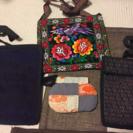 肩掛けカバン( 小物入れ)、財布