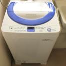 (値下げしました!)シャープ全自動洗濯機 2014年式 取扱説明書付き