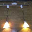 ペンダントライト2灯 ライティングバー 天井照明 スポットライト 間接