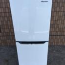 中古■HISENSE ハイセンス 2ドア冷凍冷蔵庫 HR-D1301