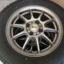 今から値下げ!LCZアルミ、タイヤスタッドレス175/70R14インチ