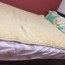 中古ダブルベッド