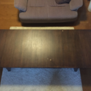 差し上げます!伸長式ローテーブル