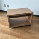 テレビ台 テレビラック 茶色 棚可動式 移動式