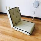 座椅子 白色 13段階 可動式