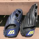 ミズノ グローブ 2個セット 軟式野球