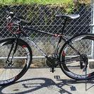 クロスバイク 420 アルミ/スチールフレーム 21段ギア