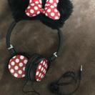 ミニーちゃん耳付きヘッドホン