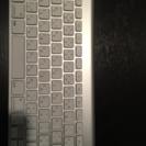 Appleワイアレスキーボード:1,500円でお譲りします。