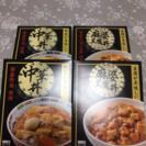 【商談中】麻婆豆腐丼、中華丼セット