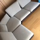 4人掛けL型ソファー
