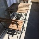 IKEA 屋外用テーブル&チェア