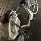 電動アシスト自転車アンジェリーノ 前子供乗せ