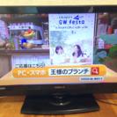 2012年製、CANDELA 19型液晶テレビ※リモコン欠品