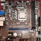 PCの(たぶん)Core i5 マザーボード 中古