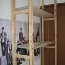 IKEAの商品を組み合わせたラック・洋服・小物・インテリアなど使い...
