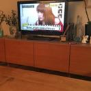 北欧スタイル チーク材 AVボード テレビ台 w158