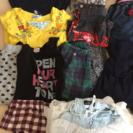 【値下げ】女の子130〜140センチ衣類バッグ等20点セット!