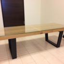 サイドテーブル 机 ガラス