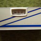 旧式の体重計