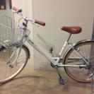 子供用自転車 24インチ 白 美品